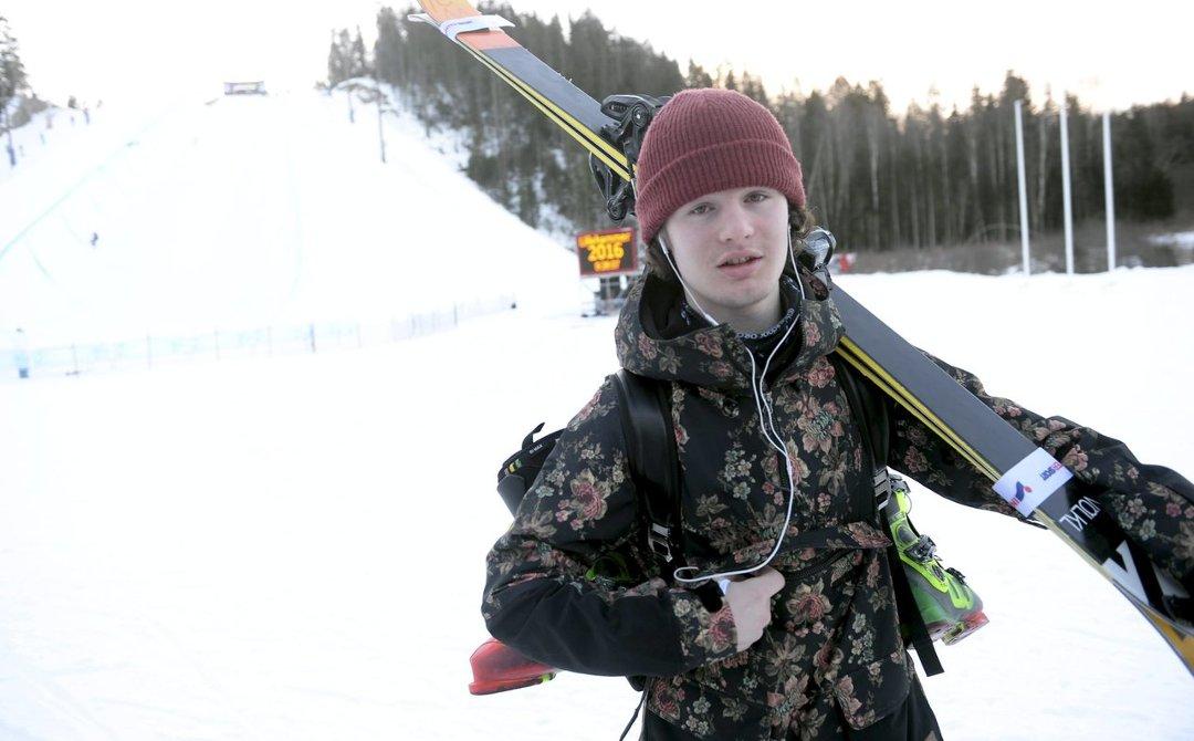 GLEDER SEG: Trym Sunde Andreassen ser klar.