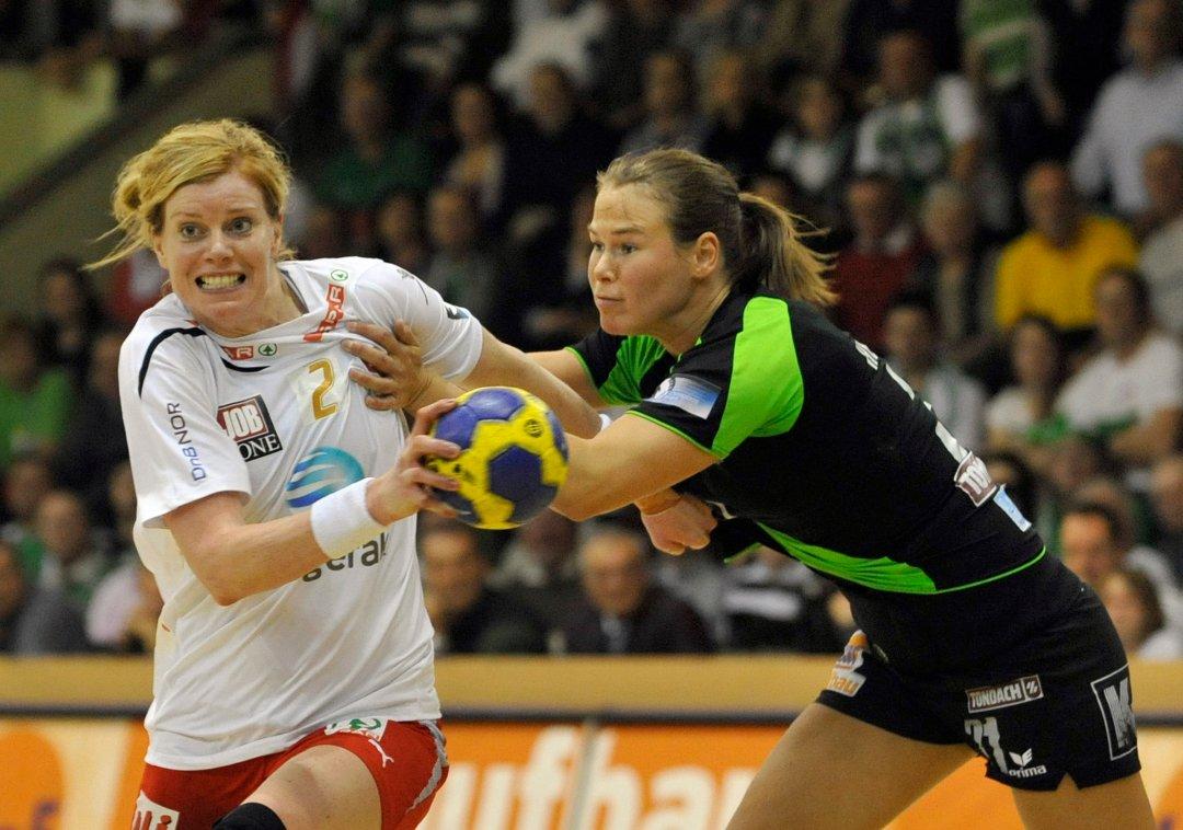 MERITTERT: Tonje Larsen har vunnet alt man kan vinne innenfor håndballen. Hun regner som en av tidenes aller beste norske håndballspillere.