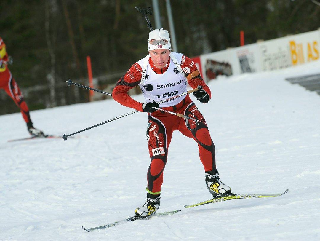 Håvard Gutubø Bogetveit gjekk Norge inn til tredjeplass på stafetten i Canada!