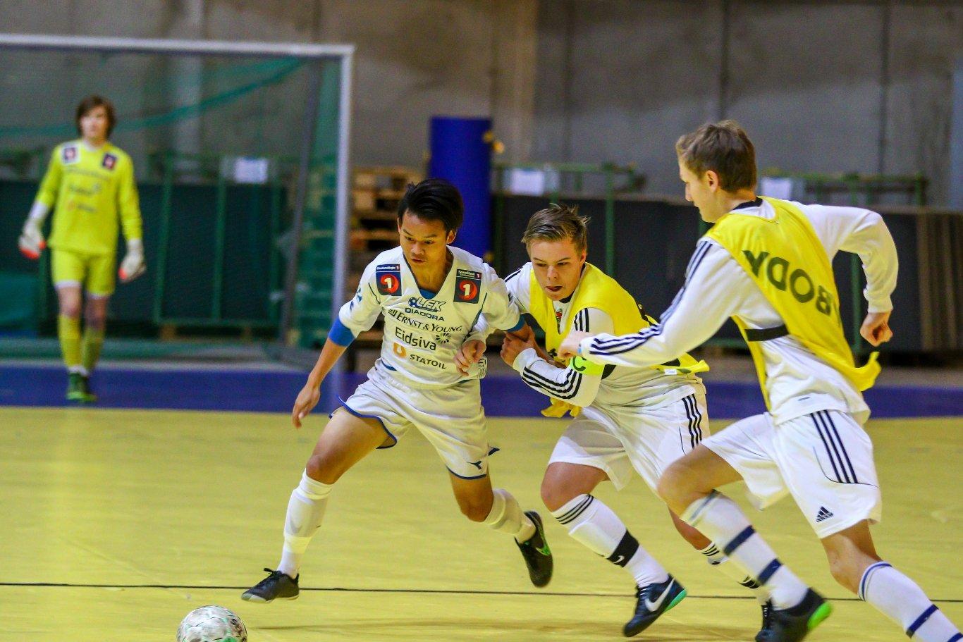 Tempo og trøkk under Lillehammer-Cup 2015