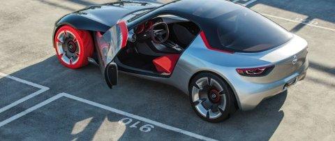 Opel har tatt patent på døråpningen som sparer plass i trange parkeringshus.