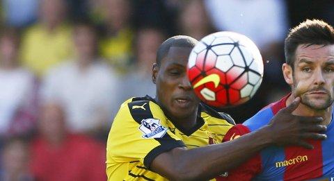 Vår tipper mener at Watford og den tidligere Lyn-spilleren Odion Ighalo er en av banerne på lørdagens tippekupong.