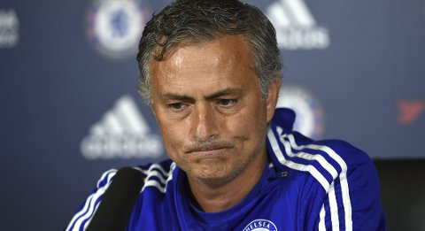Football - Chelsea - Jose Mourinho Press Conference - Chelsea Training Ground - 14/8/15 Chelsea manager Jose Mourinho during the press conference Action Images via Reuters / Tony O'Brien Livepic