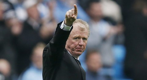 "Football - Manchester City v Newcastle United - Barclays Premier League - Etihad Stadium - 3/10/15 Newcastle manager Steve McClaren at the end of the match Reuters / Andrew Yates Livepic EDITORIAL USE ONLY. No use with unauthorized audio, video, data, fixture lists, club/league logos or ""live"" services. Online in-match use limited to 45 images, no video emulation. No use in betting, games or single club/league/player publications.  Please contact your account representative for further details."
