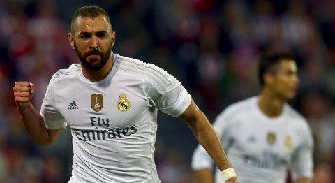 Real Madrid og Karim Benzema har vært inne i en svak periode. De er helt sikkert revansjelystne i kveld.