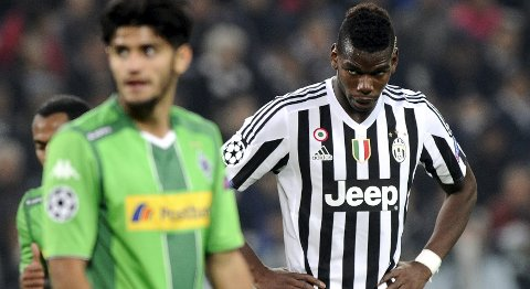 Vår oddstipper tror at Juventus og Paul Lamine Pogba går på en smell mot M'gladbach i kveld.