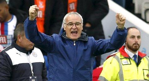 Claudio Ranieri  har hatt stor suklsess med Leicester denne sesongen.