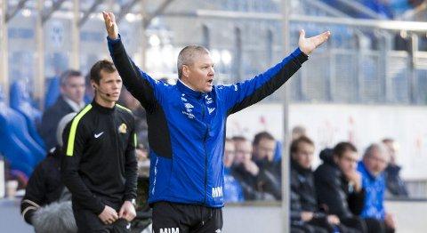 Vår tipper mener at Mons Ivar Mjelde og Start klarer uavgjort mot fremmadstormende Sarpsborg 08. Foto: NTB Scanpix