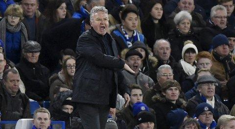 Guus Hiddink har fått orden på Chelsea etter at han kom til London.