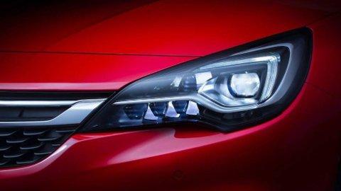 Opel vil levere Matrix LED-lys i nye Astra  og med det sørge for at ny lysteknologi blir tilgjengelig også i biler for folk flest.