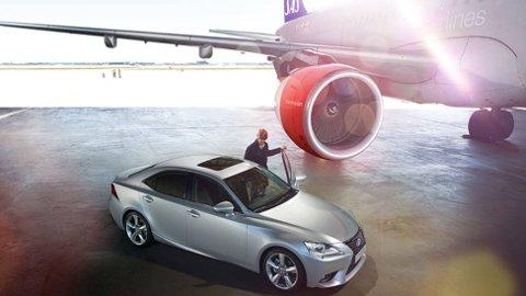 Som første bilimportør har Lexus inngått samarbeid med SAS Eurobonus.