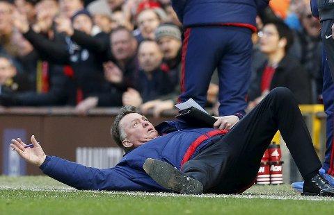 Manager Louis van Gaal og Manchester United