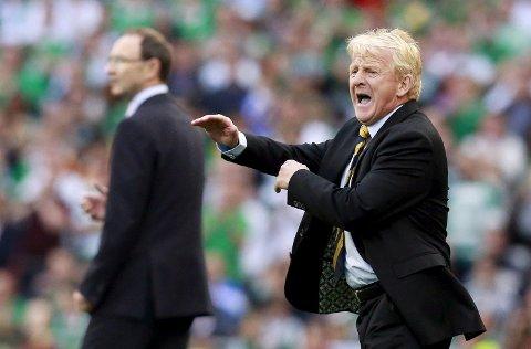 Gordan Strachan er i ferd med å ta Skottland til Em i Frankrike, men de trenger alle tre poengene i Georgia i kveld.