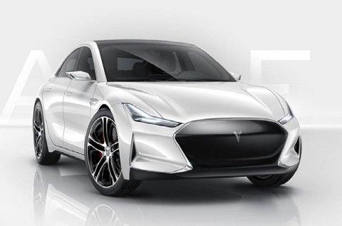 Den kinesiske bilen Youxia Ranger X er mer sportslig og aggressiv enn Tesla.