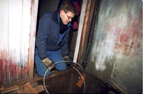Kulda kan forårsake store vannskader i en bolig.