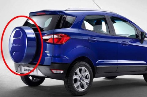 Reservehjul på bakdøra har ikke truffet kjøperne hjemme i klassen for mindre crossovere.