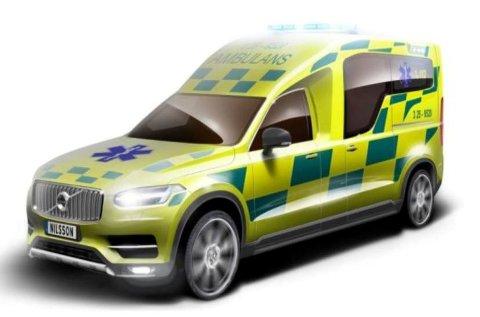 Svenske Nilsson Special Vehicles skal gjøre ambulanse av nye Volvo XC90.