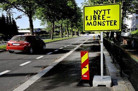 Farer lurer rundt hvert eneste kryss i Storgata i Sarpsborg.
