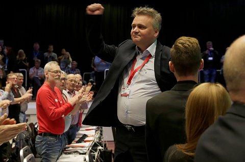 Jørn Eggum er ny leder i Fellesforbundet.