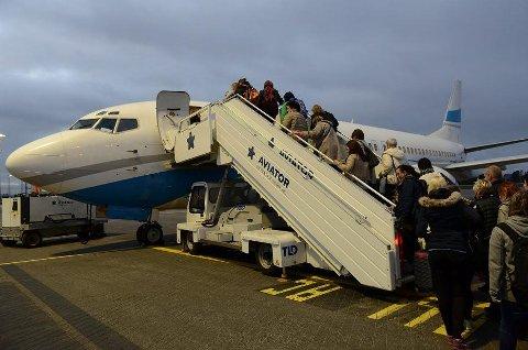 Reiseselskapet har hyret inn et polsk flyselskap, som tar seg av alle flyturene fra Norge til Ullared.
