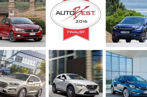 En av disse fem bilene vil vinne prisen som årets beste bilkjøp.