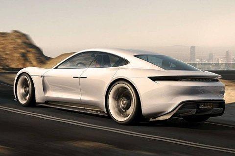 Med dette konseptet vil Porsche utfordre Tesla.