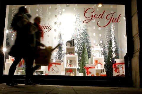 Vi handler for tre milliarder kroner per dag de siste dagene før jul.