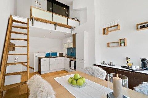 Da denne leiligheten ble solgt i forrige uke, skjedde det uten at andre budgivere kunne delta. Det var likevel både kjøper og selger fornøyd med.