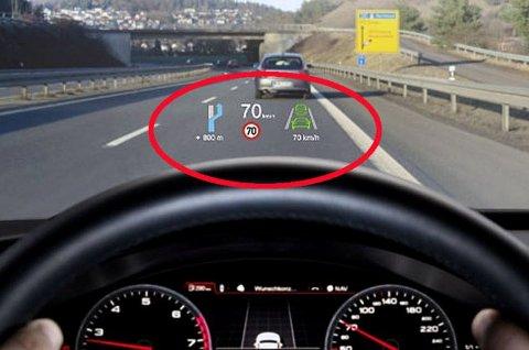 Det startet på de aller dyreste bilene. Nå har Head up display blitt vanlig på svært mange merker og modeller.