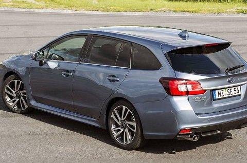 Dette er den helt nye Subaru Levorg. Denne skal 500 nordmenn kjøpe i år.