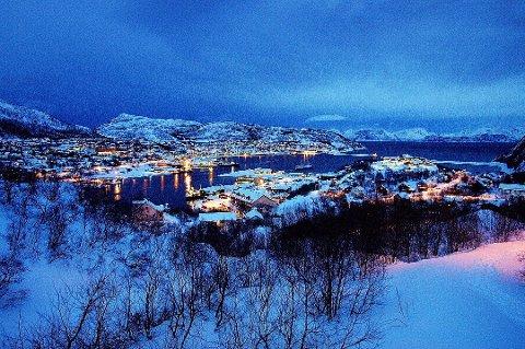 Kommunen i Skjervøy har satt krisestab etter den tragisk ulykken onsdag ettermiddag. Foto: Torgrim Rath Olsen