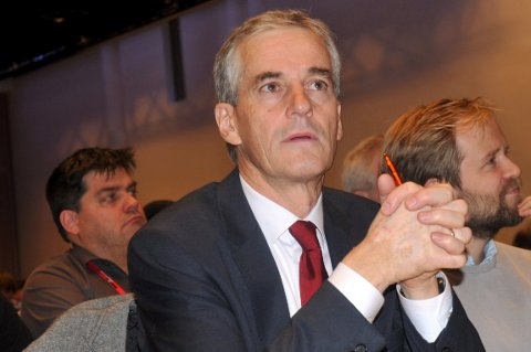 Partileder Jonas Gahr Støre varsler knallhard oljedebatt på Ap-landsmøtet i 2017.