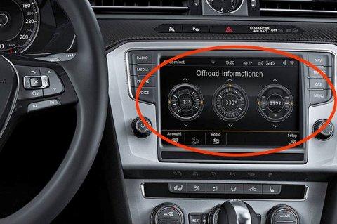 Tyvene opererer svært profjesjonelt og er ute etter én ting: Navigasjons- og multimedia-enhetene på biler fra Volkswagen-konsernet.