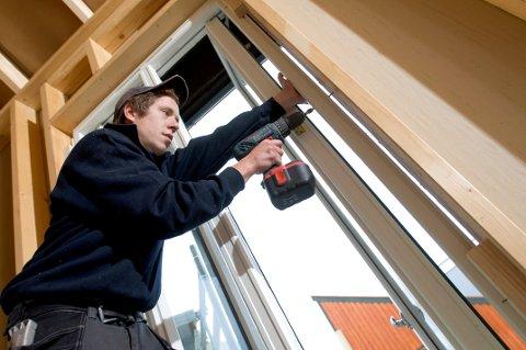 I nesten halvparten av norske boliger har det aldri vært skiftet vinduer.