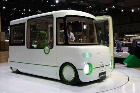 Liker du boksaktige dimensjoner, kan dette være drømmebilen.