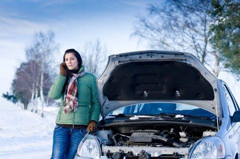 Streng kulde setter store krav til bilens batteri.