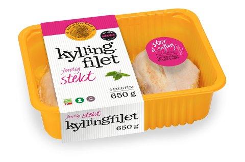 Den Stolte Hane tilbakekaller et parti kyllingfillet etter at det er påvist listeria i produktet.