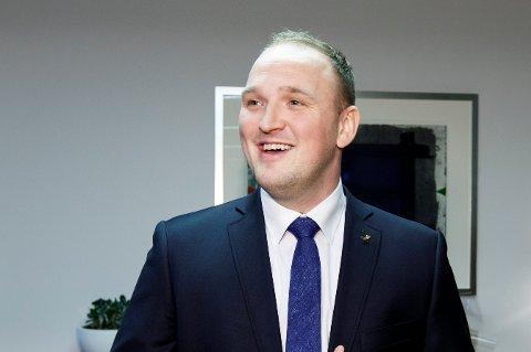 Landbruksminister Jon Georg Dale.