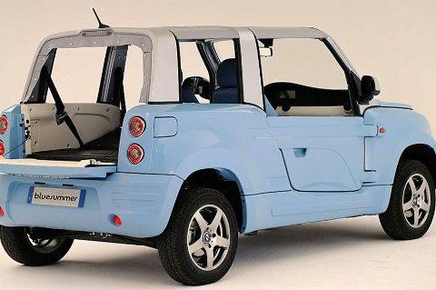 *** Local Caption *** Bolloré Bluesummer er en litt annerledes elbil, men kan være starten på noe stort.