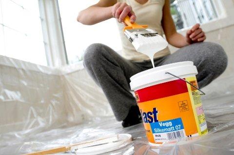 De fleste foretrekker å ta malejobben innendørs om våren eller sommeren.