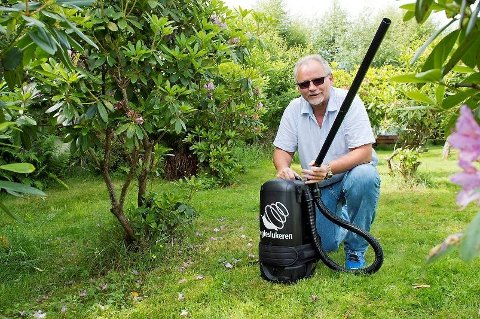 Henry Helgheim har allerede fått inn over 400 bestillinger på sin egen sneglesluker. (Foto: Eirik Hagesæter, Bergensavisen/ANB)