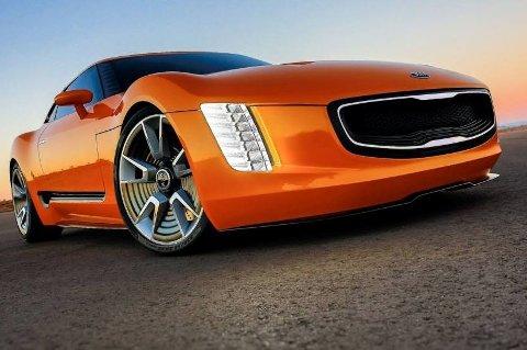 Sportsbilen GT4 Stinger ble vist av Kia i 2014. Nå bekrefter de at det kommer en sportsbil, som dessuten skal være rimelig priset.