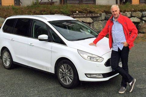 Helt ny Ford Galaxy er på plass i Norge. Broom-Benny er en av de første som har fått teste den.
