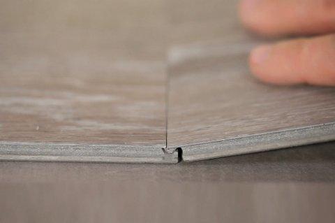 Ny teknologi gir oss en real utfordring når det gjelder å identifisere hva slags gulv man faktisk går på. Hvem skulle tro at dette gulvet er et vinylgulv?