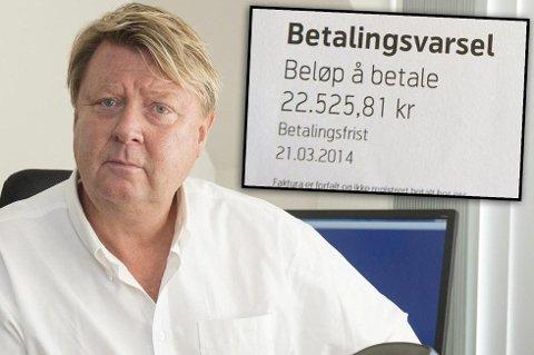 Arve Hæreide ble frastjålet mobiltelefonen på ferie. Han nekter å betale regningen på over 22.000 kroner. Nå møter han Telenor i retten.