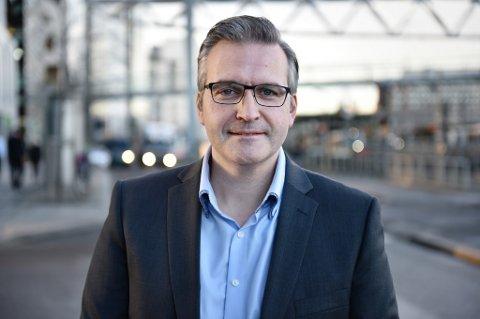 Skadeleder Ketil Voll i DNB forsikring.