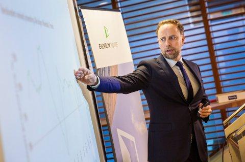 Administrerende direktør Christian Vammervold Dreyer i Eiendom Norge.