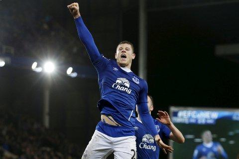 Ross Barkley og Everton vinner søndag, mener vår oddstipper.