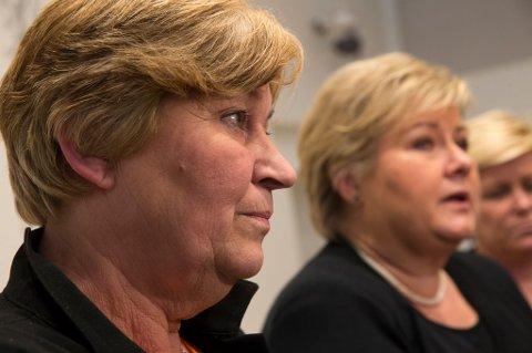 LO-leder Gerd Kristiansen gir ikke opp kampen mot statsminister Erna Solberg og permitteringslengden.