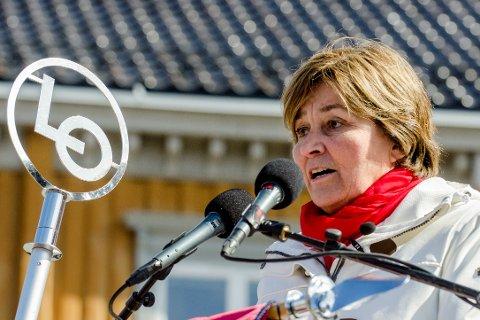 LO-leder Gerd Kristiansen vil ha slutt på au pair-ordningen.